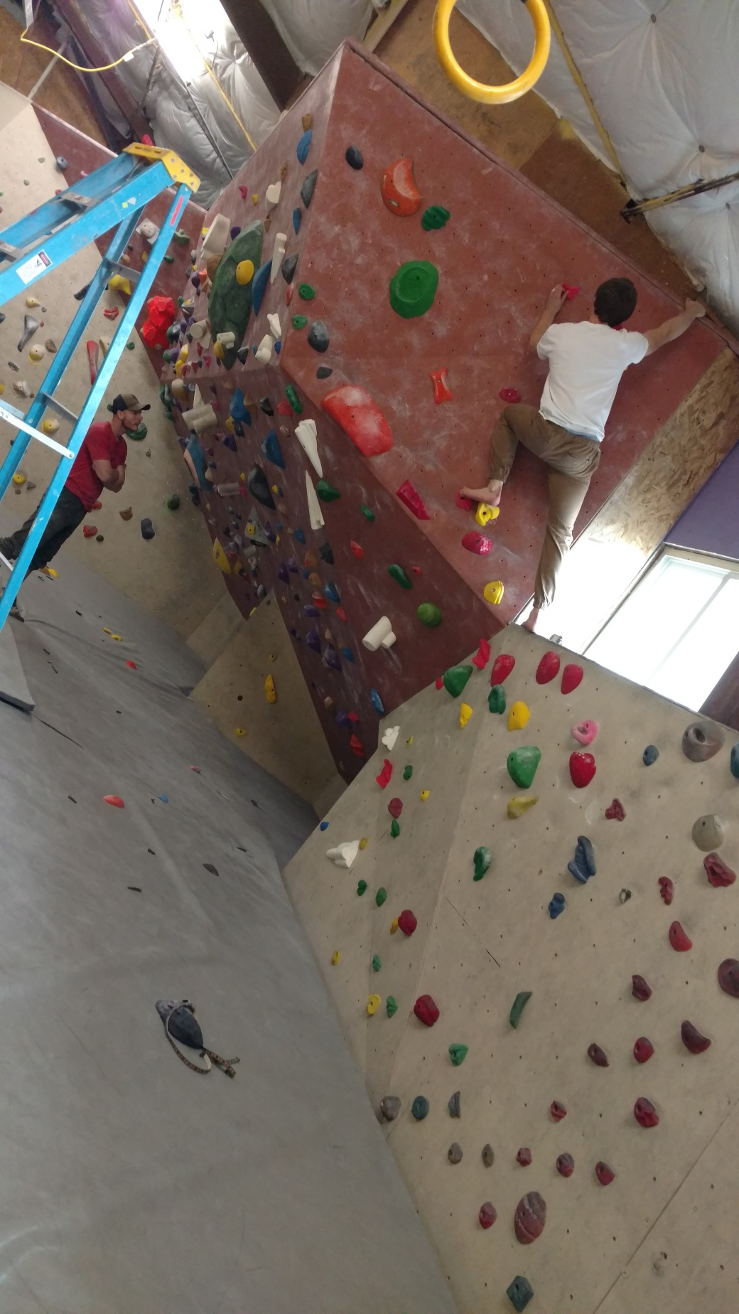 First Route Set Green V3